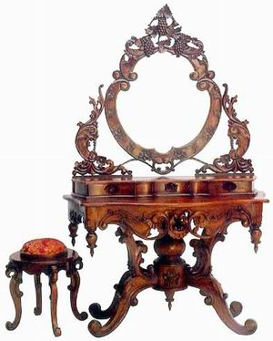 Elizabethan furniture for Baroque reproduction furniture